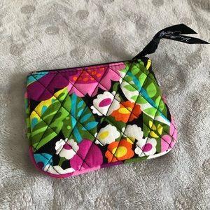 Vera Bradley Va Va Blooms zip case